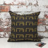 Deborah Toner 'Samson and Goliath Cranes' Cushion